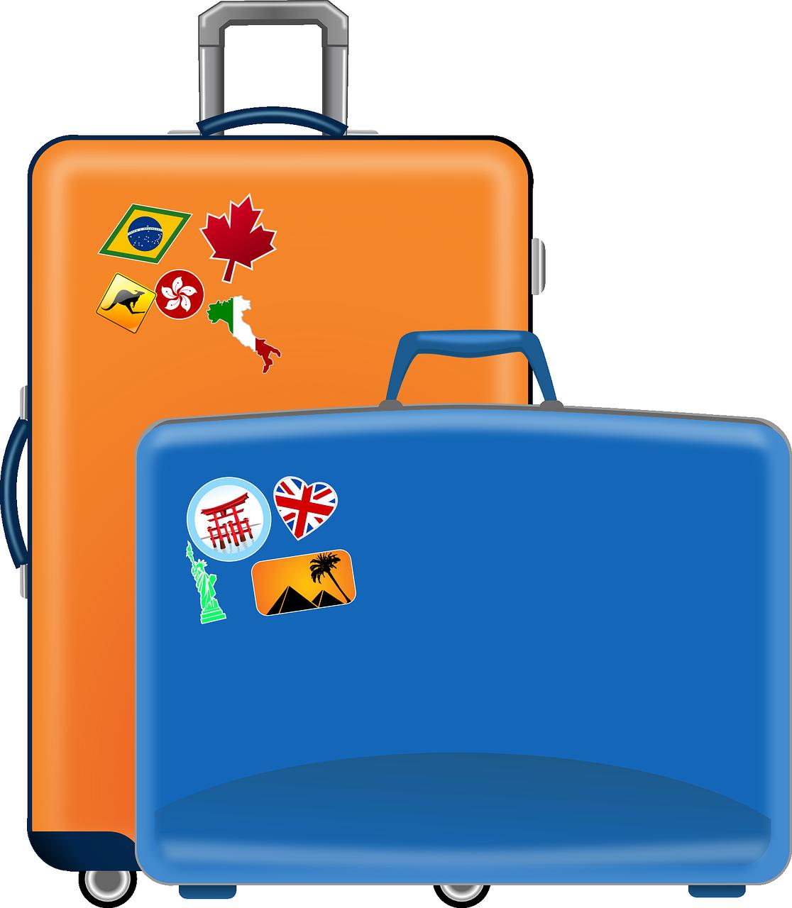 סוגים של מזוודות